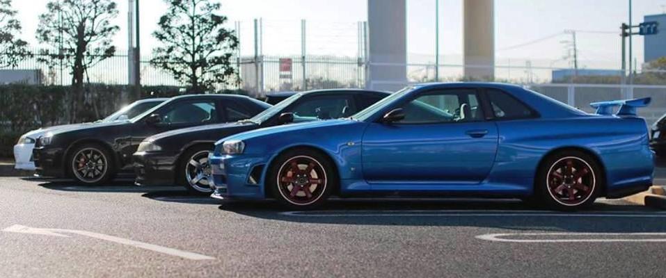 GTR 32 & 34s