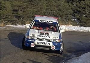 Pulsar rally car