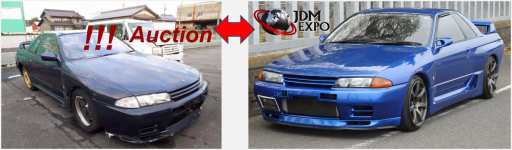auction vs. jdm expo