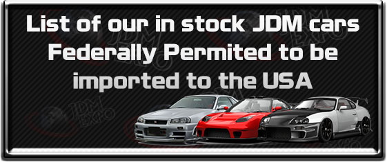 JDM cars to import USA